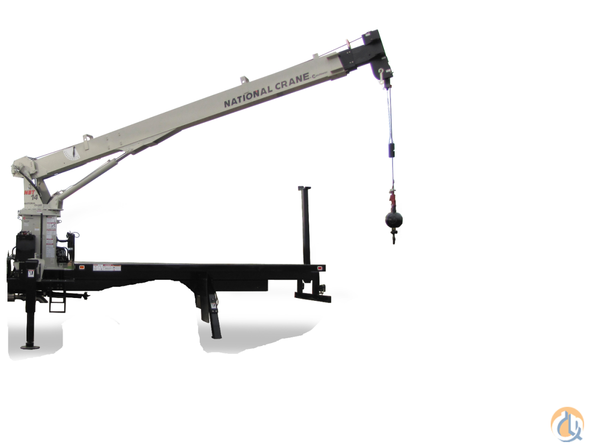 National Crane NBT14 Unmounted Radio Remotes Crane for Sale in Lyons Illinois on CraneNetworkcom