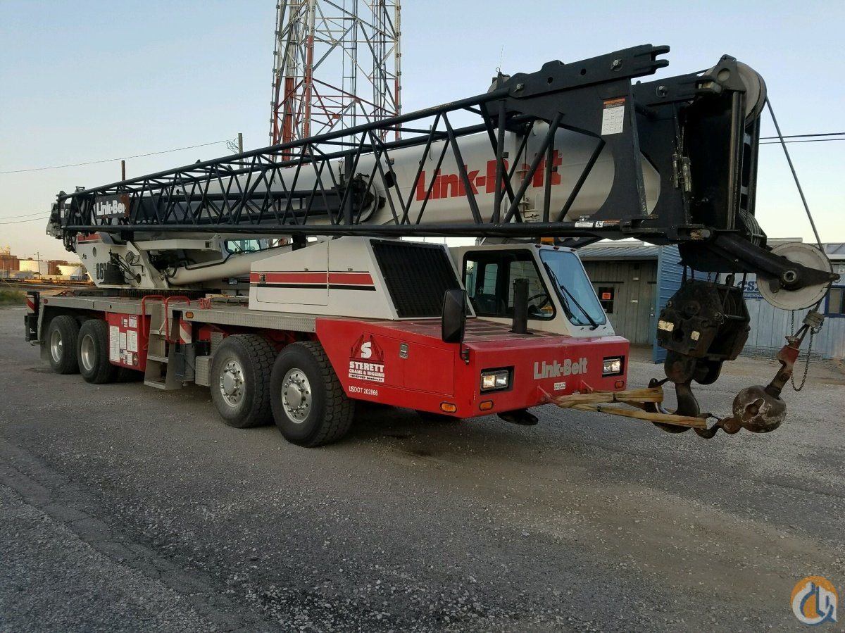 2008 Link-Belt HTC-8690 Crane for Sale in Owensboro Kentucky on CraneNetworkcom