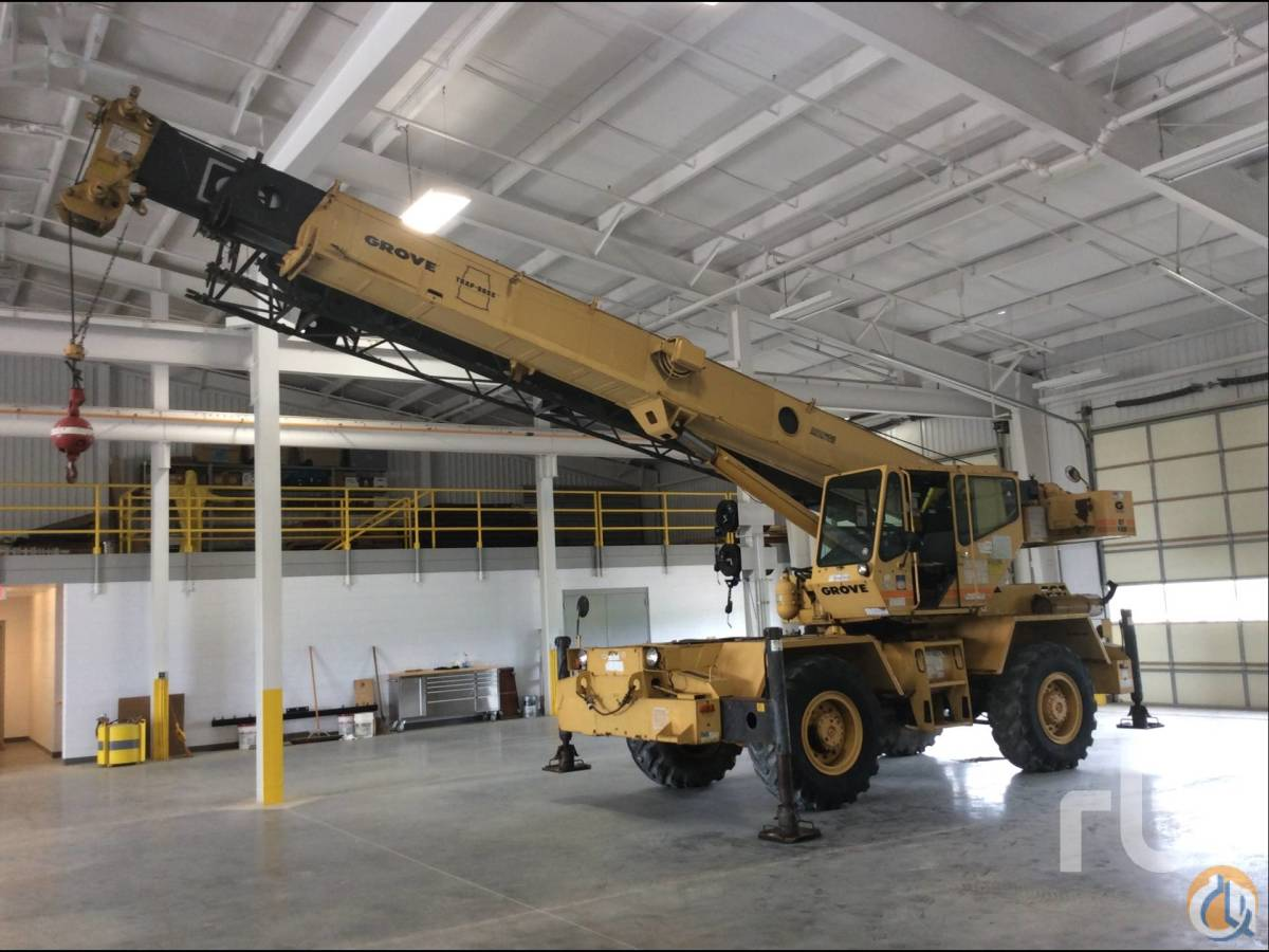 Sold 1991 GROVE RT422 22 Ton Rough Terrain Crane Crane for  in St Louis Missouri on CraneNetworkcom