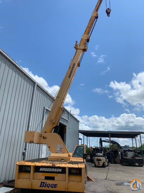 2010 BRODERSON IC200-3G Crane for Sale in Houston Texas on CraneNetwork.com