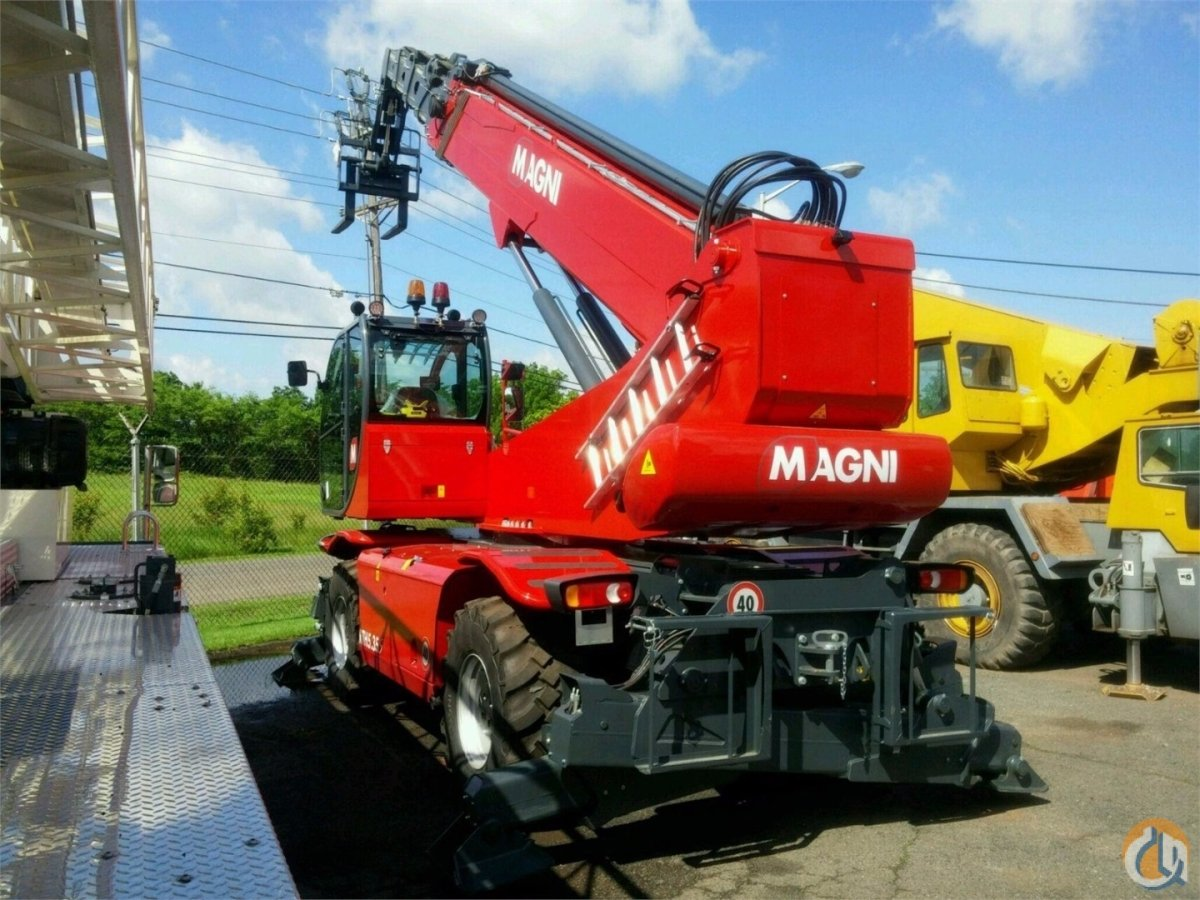 2017 Magni RTH535S Crane for Sale in Syracuse New York on CraneNetworkcom