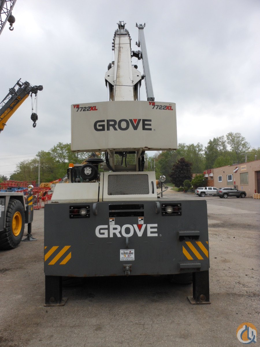 2009 Grove YB7722XL Crane for Sale in Cleveland Ohio on CraneNetwork.com