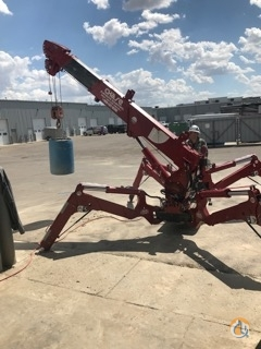 SPYDERCRANE URW295 Battery Power  110V Electric Power Crane for Sale or Rent in Airdrie Alberta on CraneNetwork.com