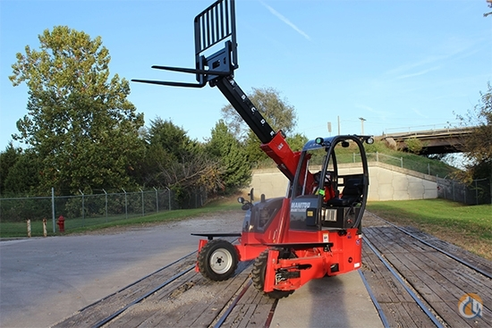2018 Manitou TMT 55 HT-4W Crane for Sale in Houston Texas on CraneNetwork.com