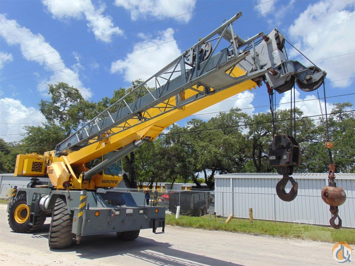 2008 GROVE RT600E Crane for Sale in Hollywood Florida on CraneNetworkcom