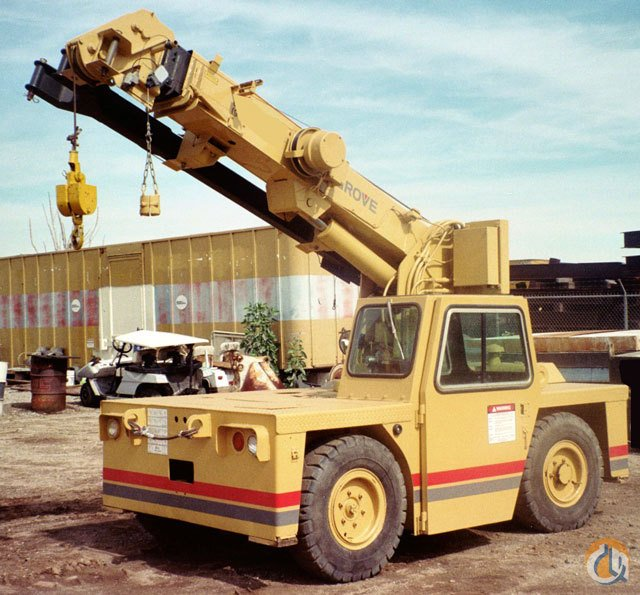 1991 Grove AT206 Carry deck crane Crane for Sale in Long Beach California on CraneNetwork.com