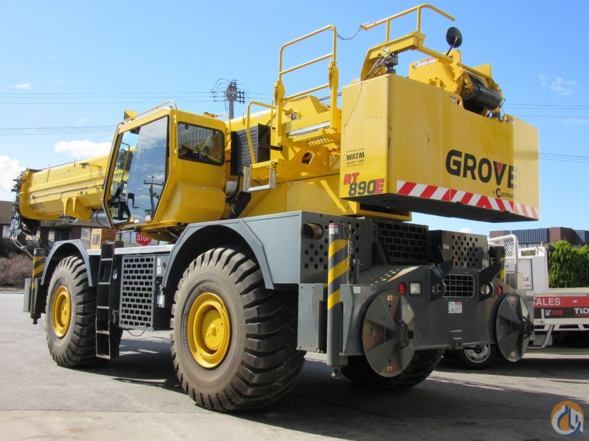 HEAVILY DISCOUNTED Super low-hours Grove 80t rough terrain for sale Crane for Sale or Rent in Perth Western Australia on CraneNetwork.com