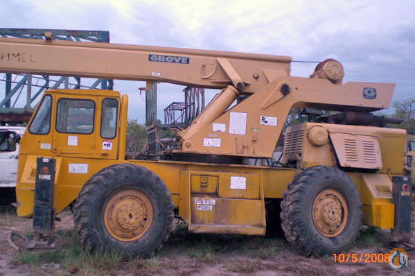GROVE RT60 SINGLE DOWN CAB Crane for Sale on CraneNetwork.com