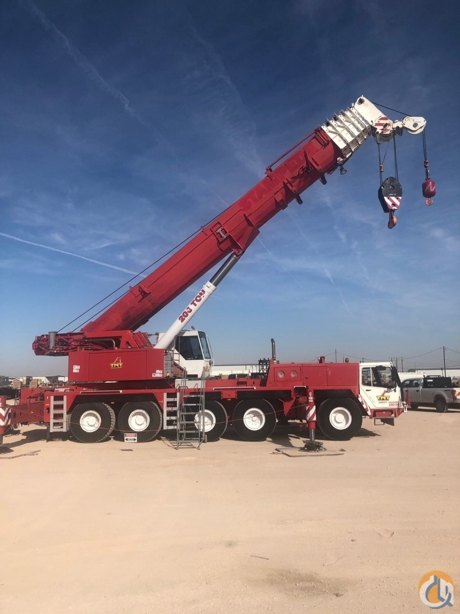 Liebherr	LTM 11602 Hydraulic Truck Crane Crane for Sale in Midland Texas on CraneNetwork.com