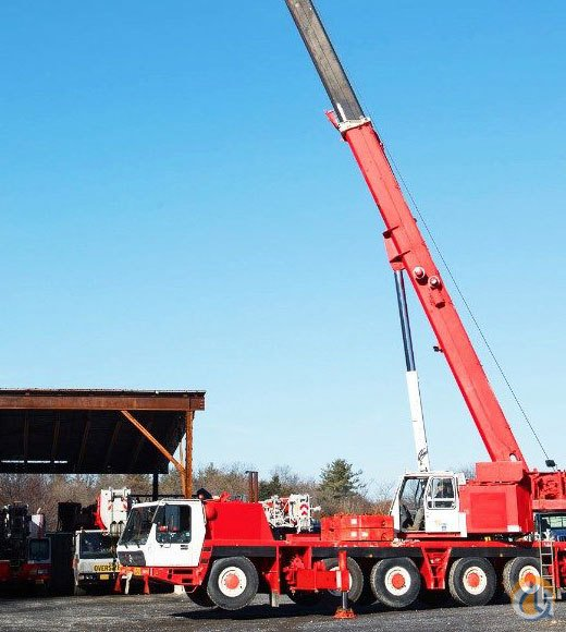 KRUPP 110 US TON GROVE All Terrain Crane Crane for Sale in Baltimore Maryland on CraneNetworkcom