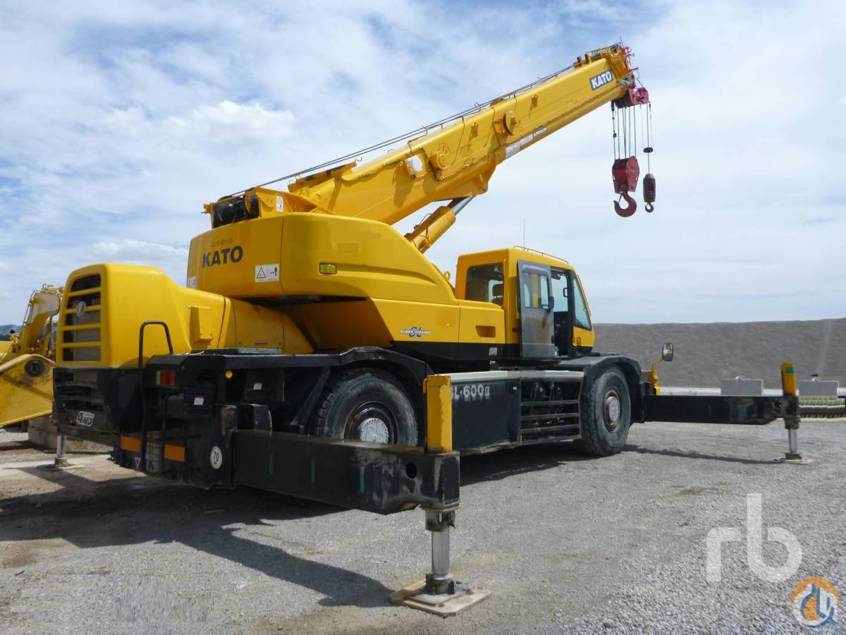 2007 KATO KR50H-L2 51 Ton 4x4x4 Rough Terrain Crane Crane for Sale in Ocaa Castilla-La Mancha on CraneNetworkcom