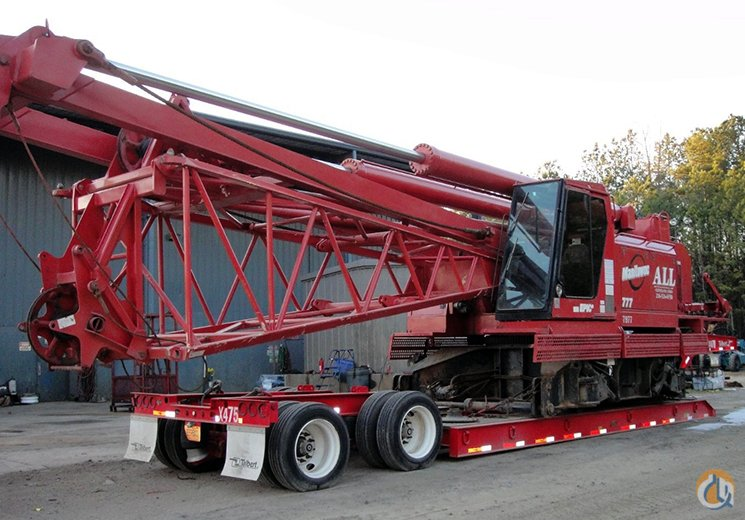 Manitowoc 777 For Sale Crane for Sale in Tampa Florida on CraneNetwork.com