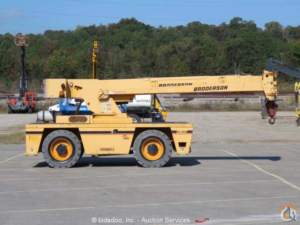 2012 BRODERSON IC-200-3G Crane for Sale or Rent in Savannah Georgia on CraneNetwork.com