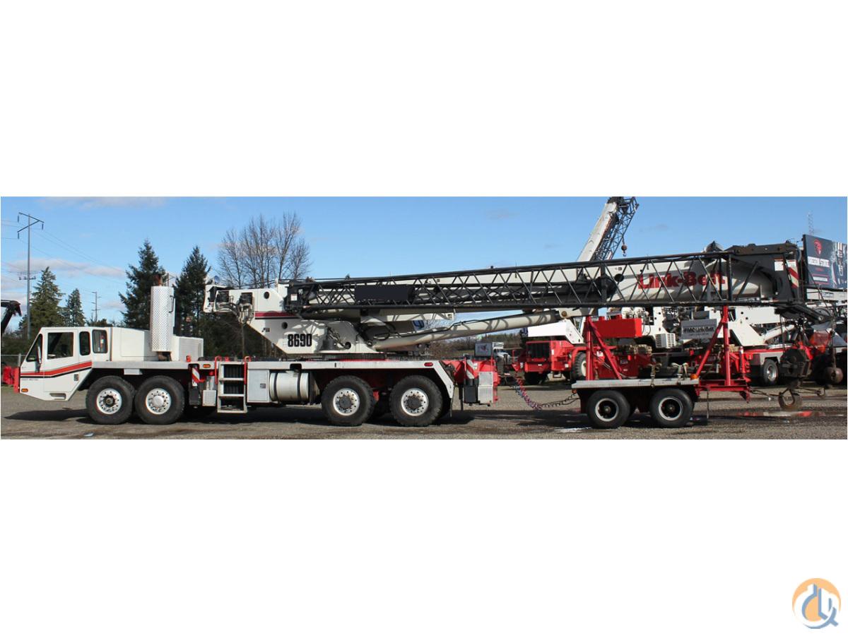 2008 link belt htt 8690 hydraulic truck crane crane for sale on rh cranenetwork com Link Belt Pillow Block Bearings Link Belt Drives