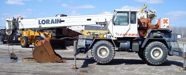 1990 Lorain LRT275D Rough Terrain Crane Crane for Sale in Hazel Crest Illinois on CraneNetworkcom