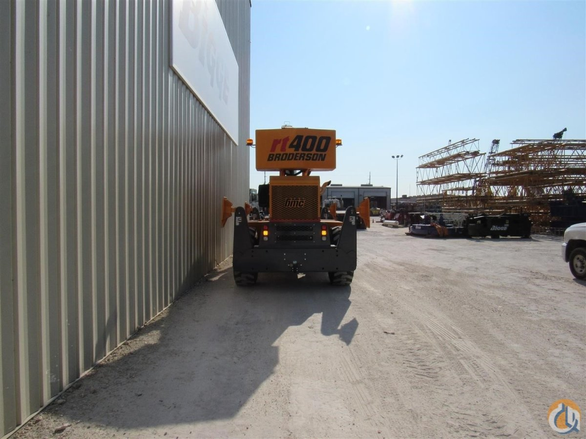 2017 BRODERSON RT400 Crane for Sale in Houston Texas on CraneNetwork.com