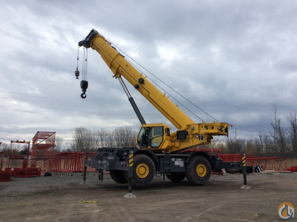2017 Grove GRT 8100 100 Ton Crane for Sale in Cleveland Ohio on CraneNetwork.com