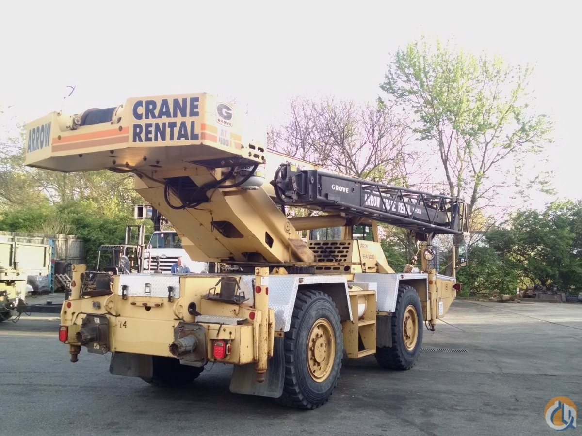 Sold Grove AT400 Crane for  in Cincinnati Ohio on CraneNetworkcom
