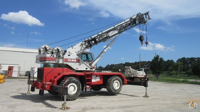 1999 Link Belt RTC8040 40-Ton Rough Terrain Crane Crane for Sale in Savannah Georgia on CraneNetwork.com