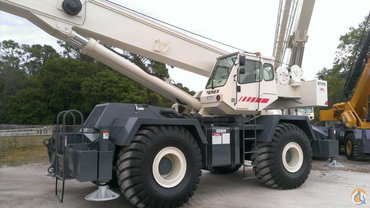 sold 2001 terex rt175 75 ton low hr excellent cond crane for on rh cranenetwork com RT Crane Terex Rt 130
