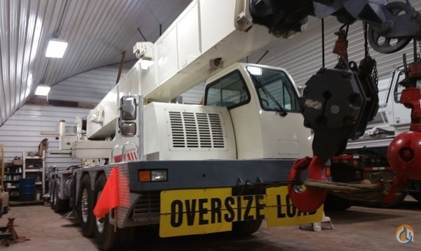 Sold 60 ton Terex T560-1 Crane for  in Plattsburgh New York on CraneNetwork.com
