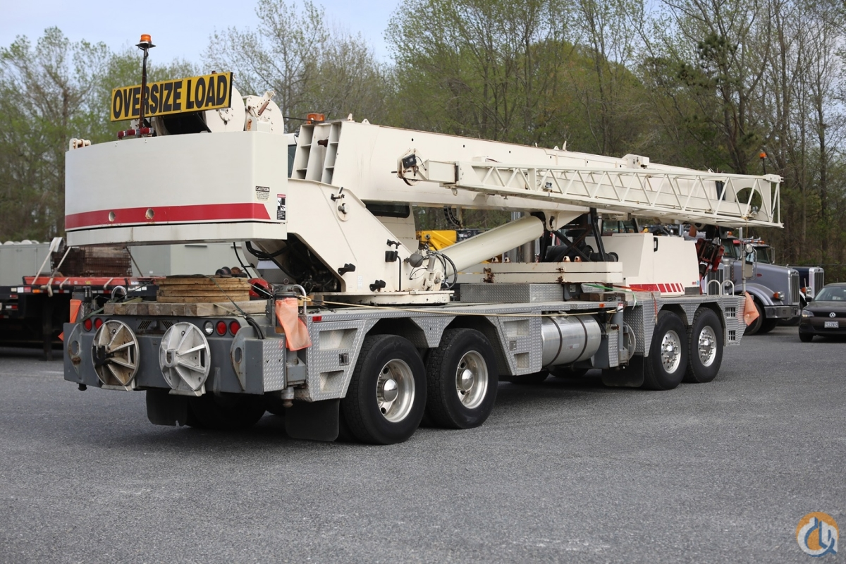 2004 TEREX T560-1 60 US TON HYDRAULIC TRUCK CRANE Crane for Sale in Norfolk Virginia on CraneNetwork.com