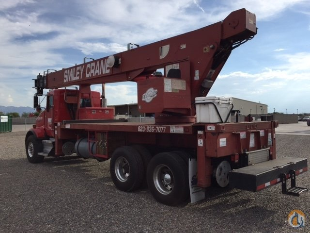2014 Kenworth with 35 ton Terex Crane for Sale in Phoenix Arizona on CraneNetworkcom
