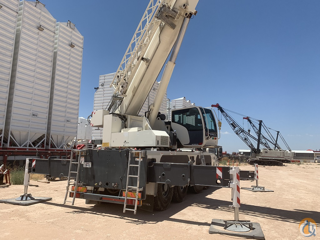 2015 TerexDemag AC100-4L Crane for Sale in Houston Texas on CraneNetwork.com