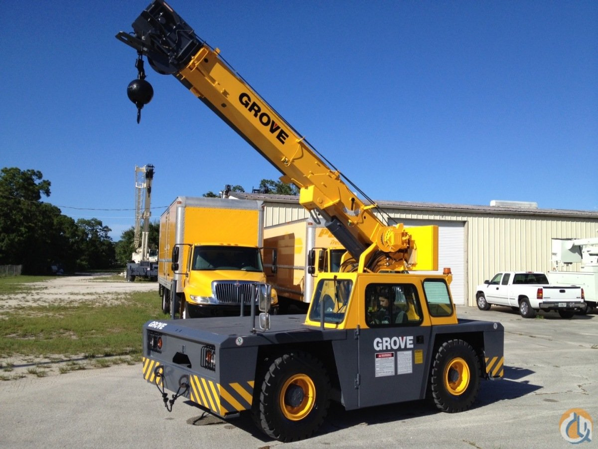 2000 Grove Yb4408 8 Ton Carry Deck Crane Crane For Sale On
