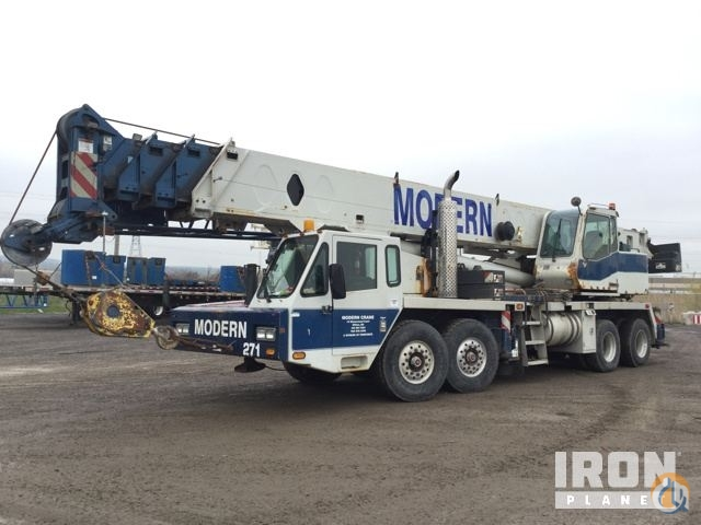 Sold 2007 Link-Belt HTC-8675 Hydraulic Truck Crane Crane for  on CraneNetwork.com