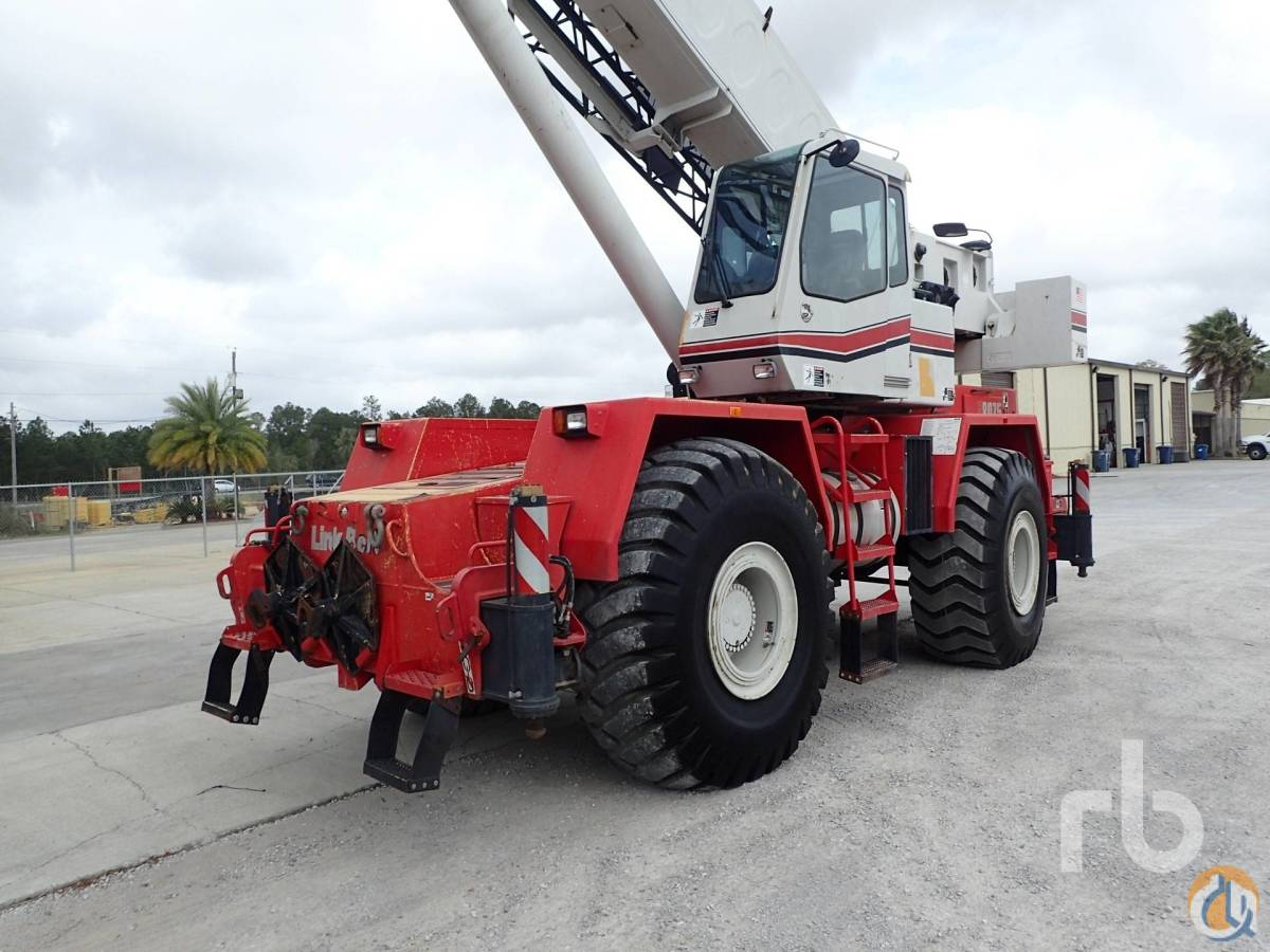 Sold 2009 LINK-BELT RTC8075 75 Ton 4x4x4 Rough Terrain Crane Crane for  in Houston Texas on CraneNetworkcom