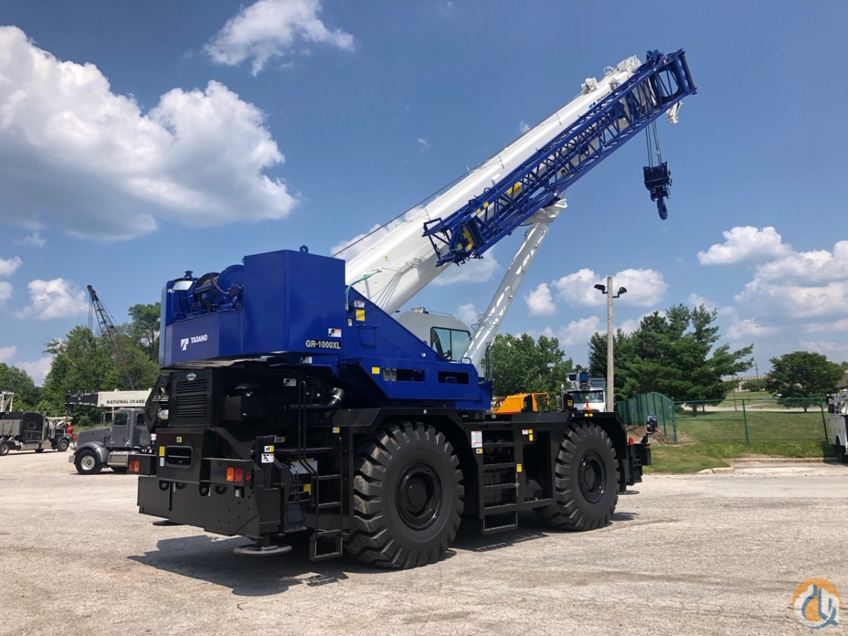2018 Tadano GR-1000XL-2 Rough Terrain Available now Crane for Sale in Solon Ohio on CraneNetwork.com