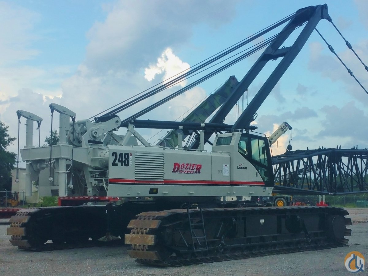 2007 LINK-BELT LS-248H5 Crane for Sale or Rent in Savannah Georgia on CraneNetworkcom