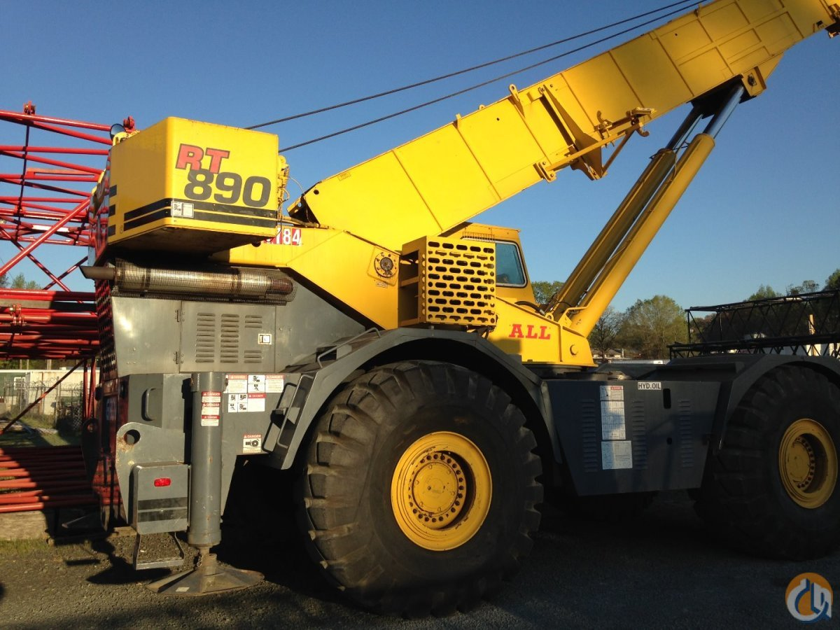 Grove RT890 For Sale Crane for Sale on CraneNetworkcom