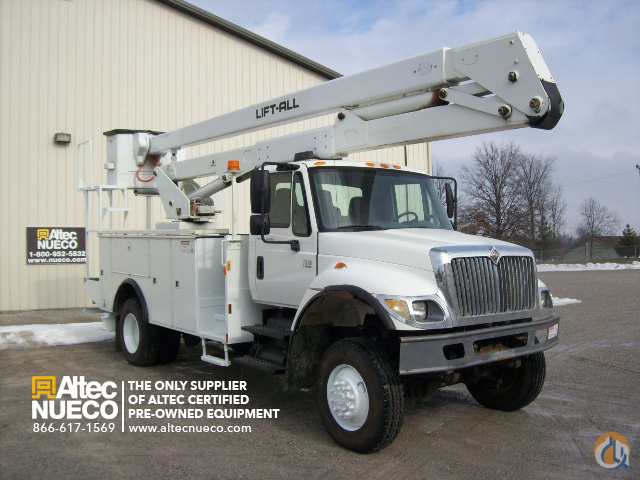 2006 LIFT-ALL LAN552E Crane for Sale in Fort Wayne Indiana on CraneNetworkcom