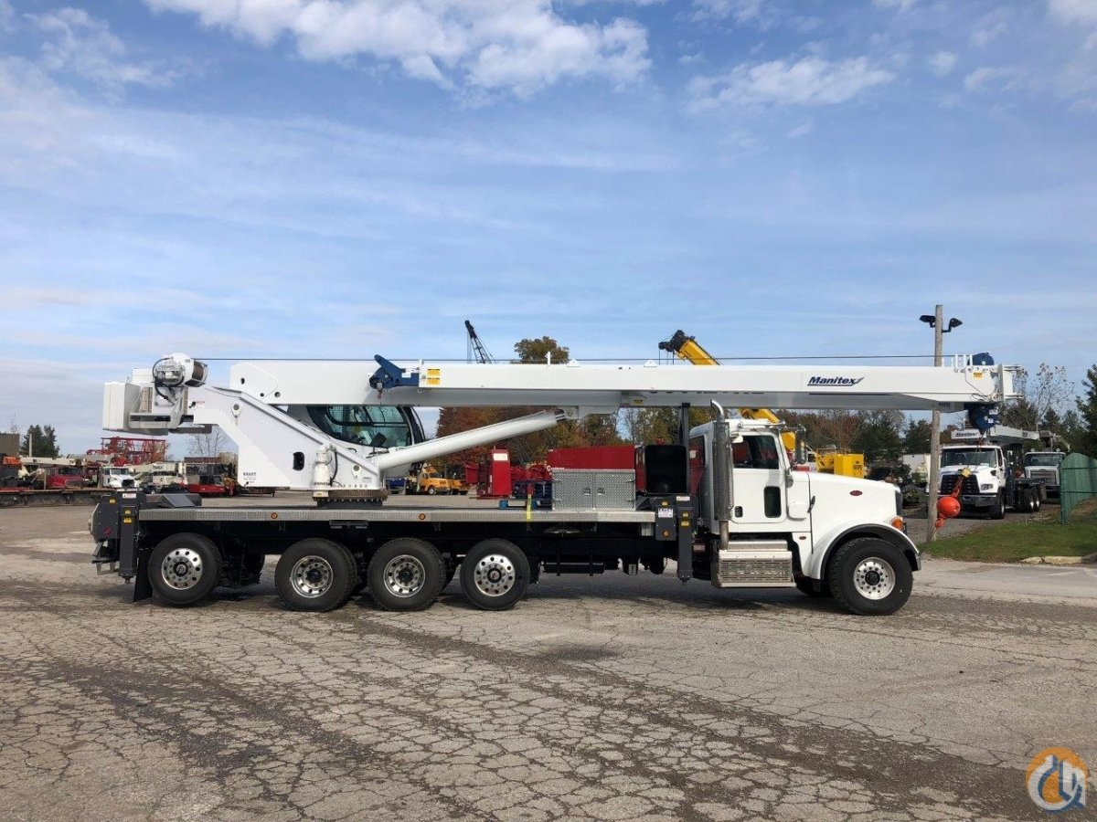 NEW Manitex TC50128SHL on a new 2019 Peterbilt 365 Crane for Sale in Solon Ohio on CraneNetwork.com