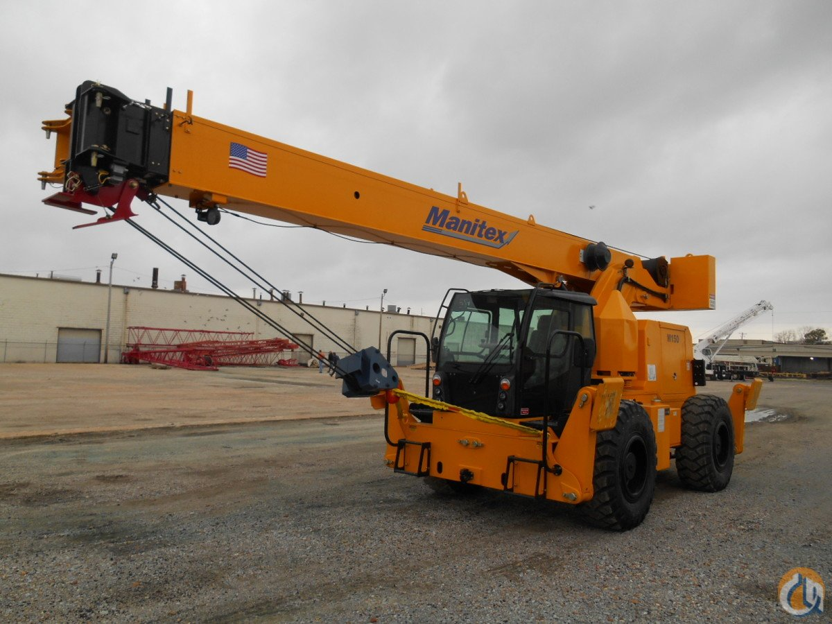 2017 Manitex M150 Crane for Sale on CraneNetwork.com
