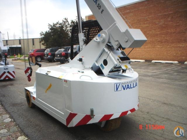 Valla 50E Carry Deck Industrial Cranes Crane for Sale 2014 VALLA 50E in Bridgeview  Illinois  United States 219010 CraneNetwork