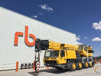 2004 GROVE GMK4075 ALL TERRAIN CRANE Crane for Sale in Ocaa Castilla-La Mancha on CraneNetworkcom