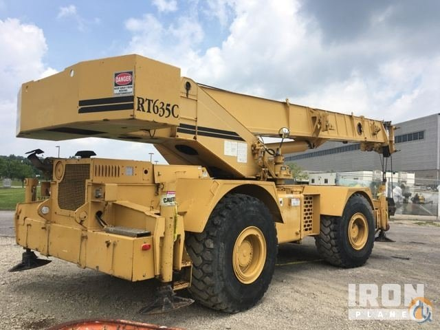 Sold 1996 Grove RT-635C Rough Terrain Crane Crane for  in Saxonburg Pennsylvania on CraneNetworkcom