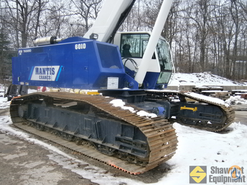 2011 Mantis 6010 Crane for Sale in Manchester Connecticut on CraneNetwork.com