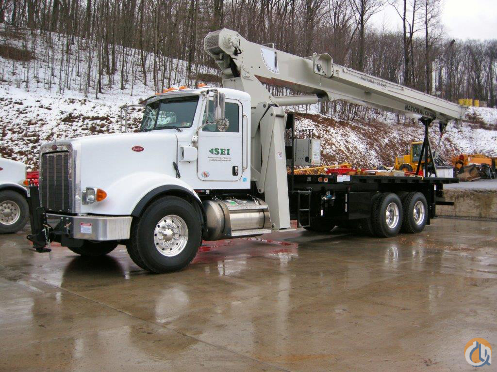 SEI 6382 2012 National 8100D Crane for Sale or Rent in Pittsburgh Pennsylvania on CraneNetworkcom