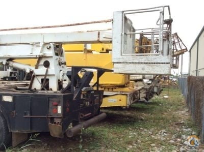Sold 1984 Snorkel 1 Crane for  in Villa Rica Georgia on CraneNetworkcom