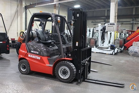 2018 Manitou MI 25G Crane for Sale in Houston Texas on CraneNetwork.com