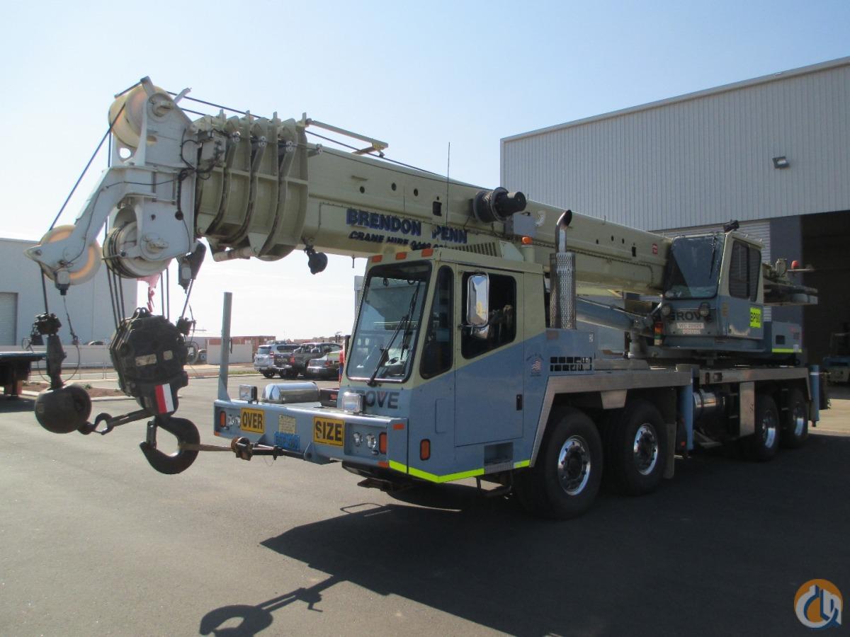 2006 Grove Tms 900e Truck Crane Crane For Sale On
