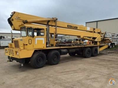 Sold 1989 Condor 100STB Crane for  in Villa Rica Georgia on CraneNetworkcom