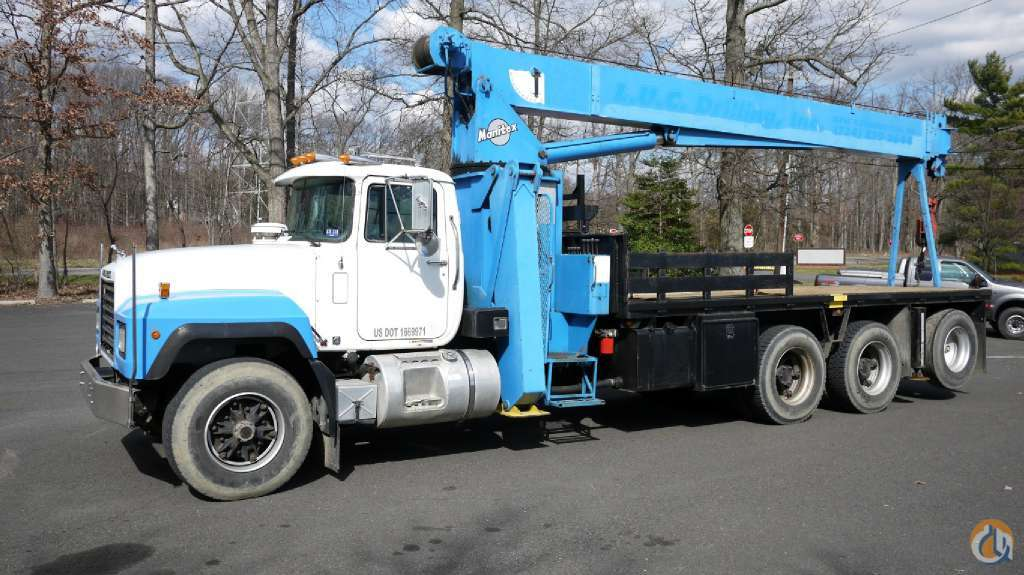 1996 MANITEX 2284 8803 Crane for Sale in Hatfield Pennsylvania on CraneNetworkcom