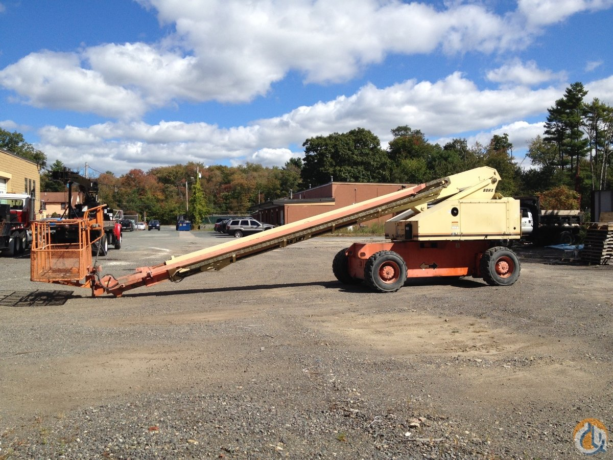 1999 JLG 80HX MAN LIFT FOR SALE Crane for Sale in Easton Massachusetts on CraneNetwork.com