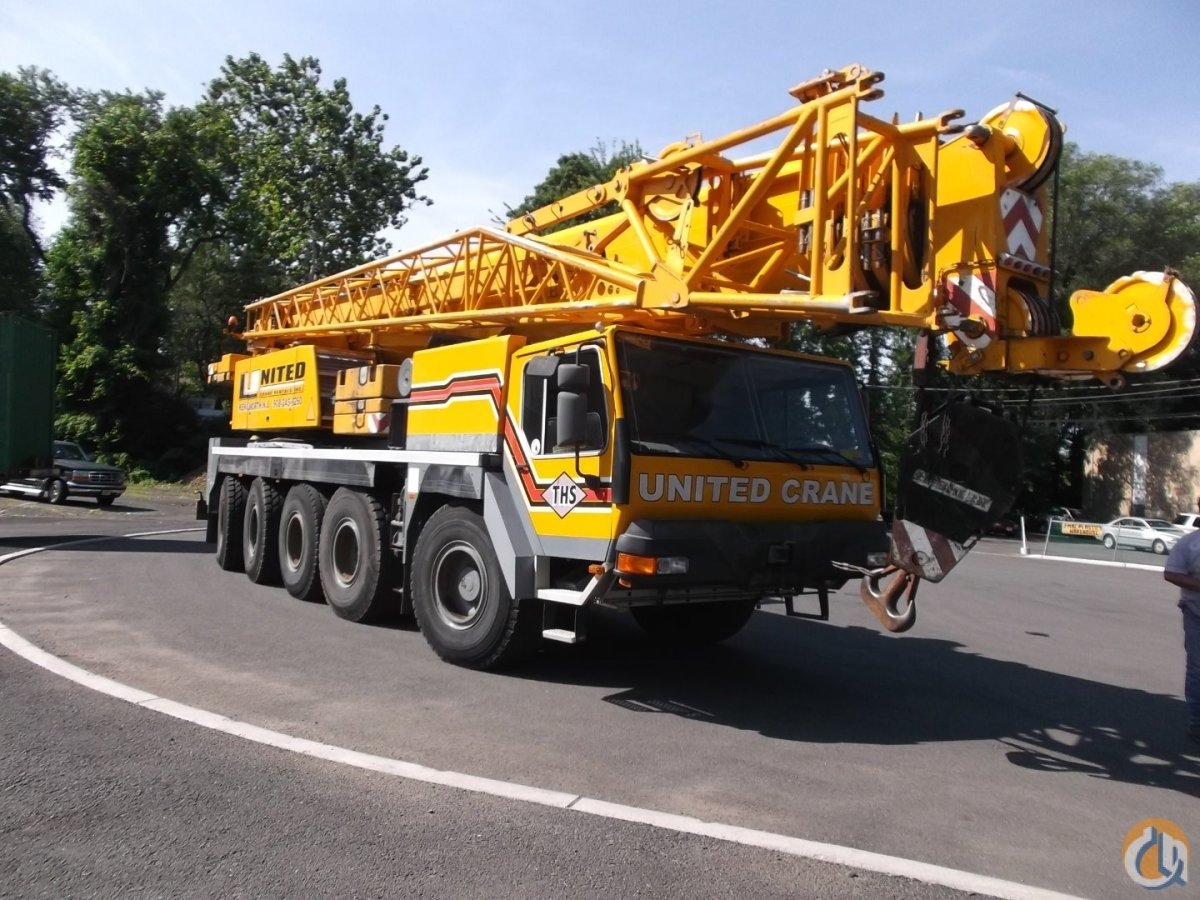 2001 Liebherr LTM 1100-2 Crane for Sale on CraneNetwork.com