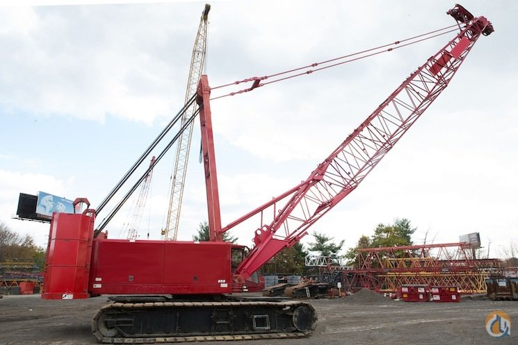 2003 MANITOWOC 555 150 TON CRAWLER CRANE Crane for Sale on
